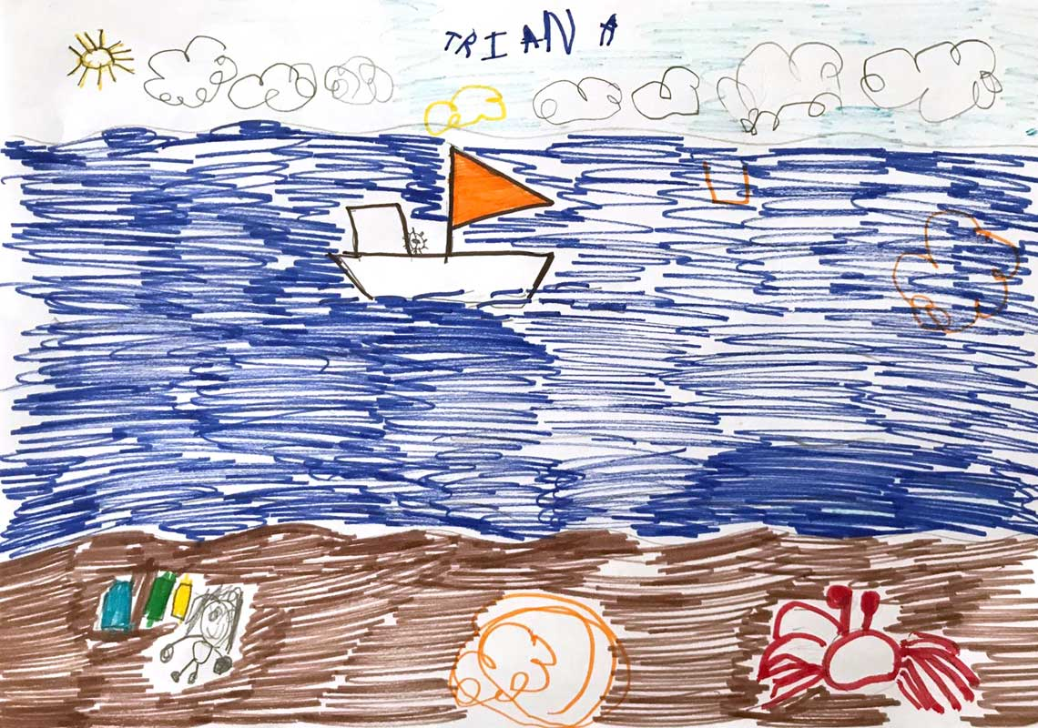 La contaminacion del plastico concurso de dibujo de Proantial