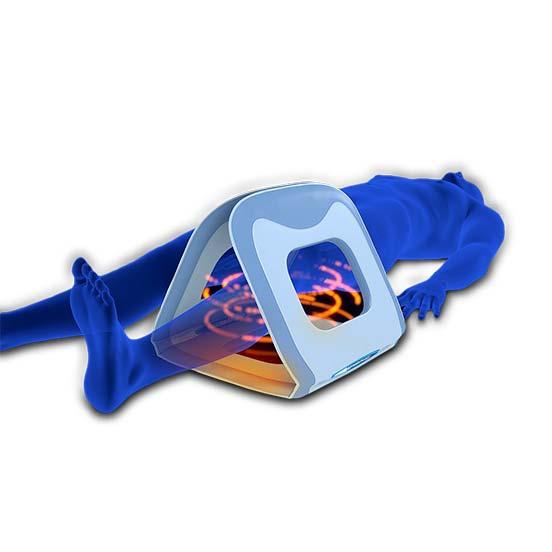 cuerpo con aplicador 3D de Biomag